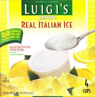 how to make lemon italian ice at home