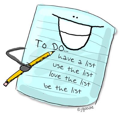 Image result for i love lists
